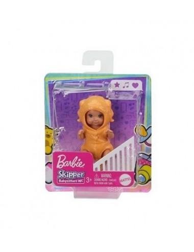 Barbie miminko v kostýmu - maskované jako pejsek