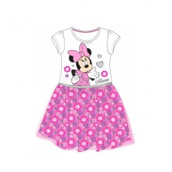 Šaty Minnie Mouse - bílé