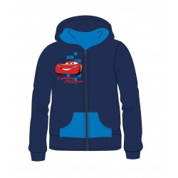 Mikina s kapucí na zip Auta...