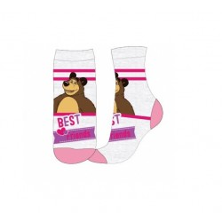 Ponožky Máša a medvěd - šedé