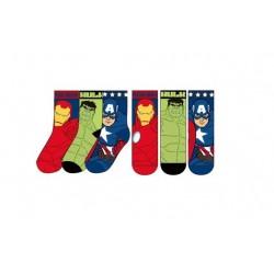 Ponožky Avengers - modré