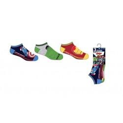 Kotníkové ponožky Avengers (3pack)