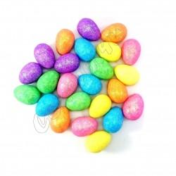 Velikonoční třpytivá vajíčka (sada 12ks)