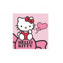 Magický ručník Hello Kitty - světle růžová