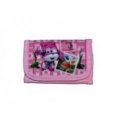 Peněženka Super Wings - růžová