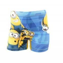 Plavky Mimoni - modro-žluté