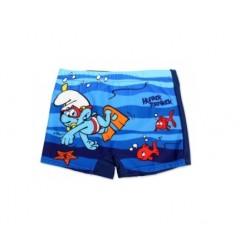 Plavky Šmoulové - tmavě modré
