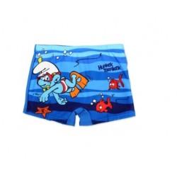 Plavky Šmoulové - modré