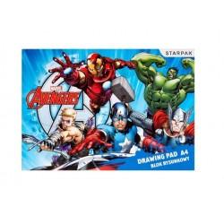 Rýsovací blok - Avengers