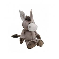Plyšový hračka - hnědý oslík