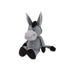 Plyšový hračka - šedý oslík
