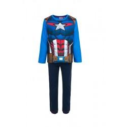 Pyžamo s dl. rukávem + kalhoty Avengers (Kapitán Amerika)