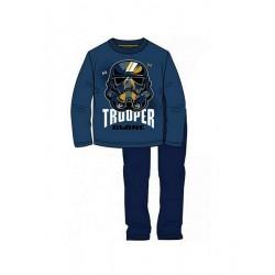 Pyžamo s dl. rukávem + kalhoty Star wars