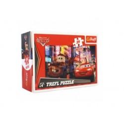 Mini puzzle (54 dílků) Auta