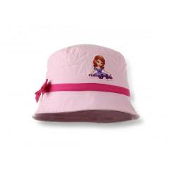 Letní klobouček Sofie první - světle růžový