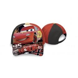 Kšiltovka Auta - černo-červená
