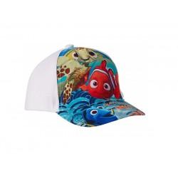 Kšiltovka Hledá se Dory / Nemo - bílá