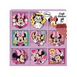 Samolepky v krabičce Minnie...