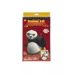 Samolepková mozaika Kung Fu panda