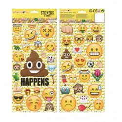 Samolepky Emoji (2 archy)