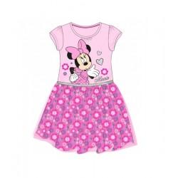 Šaty Minnie Mouse - růžové