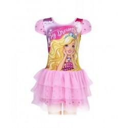 Šaty Barbie - světle růžové