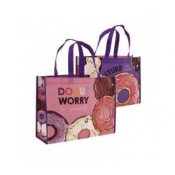 Pevná nákupní taška Donut