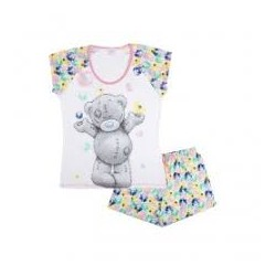 Dámské pyžamo - triko s kr. rukávem + kraťase Me to You (Tetty Taddy)