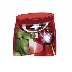 Chlapecké plavky Avengers - červené