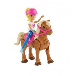 Barbie on the go s poníkem