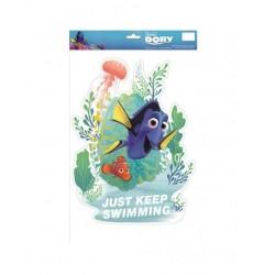 Samolepící dekorace do okna - Hledá se Nemo/Dory