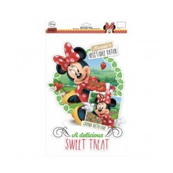 Samolepící dekorace do okna - Minnie Mouse
