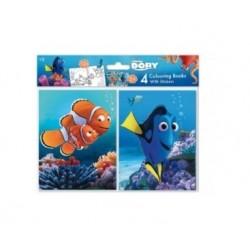 Sada omalovánek & samolepek Hledá se Nemo/Dory