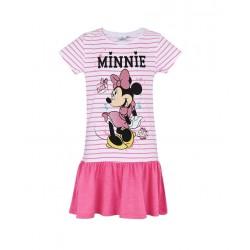 Šaty Minnie mouse - bílorůžové