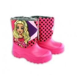Sněhule s kožíškem Barbie