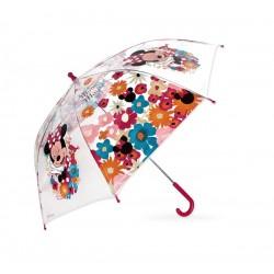 Průhledný deštník Minnie Mouse