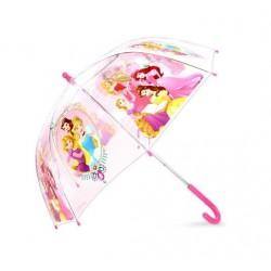 Průhledný deštník Princezny