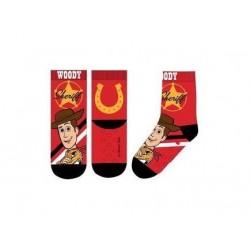 ABS teplé ponožky Příběh hraček - červené (Woody)