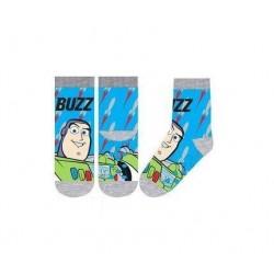 ABS teplé ponožky Příběh hraček - šedé (Buzz Rakeťák)