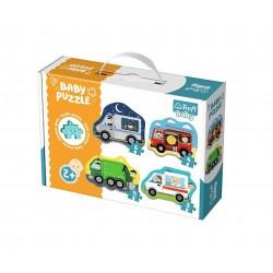 Trefl baby puzzle - dopravní prostředky