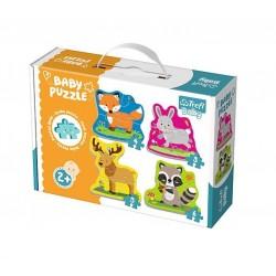 Baby puzzle - lesní zvířátka