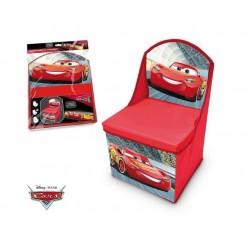 Židle s úložným prostorem Auta