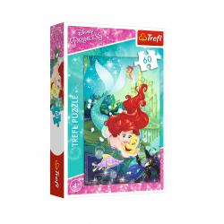 Puzzle Ariel - malá mořská...