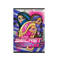 Linkovaný A5 sešit Barbie