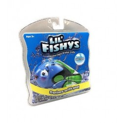 Plavací rybička - modrá