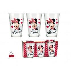 Sklenice Minnie Mouse se...
