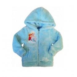 Plyšová mikina Ledové království - modrá