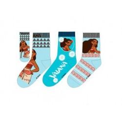 Ponožky Odvážná Vaiana (3pack)