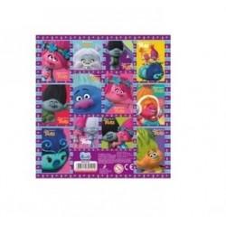 Samolepky Trollové - fialové