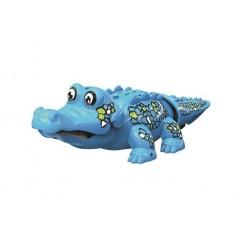 Robo krokodýl - modrý